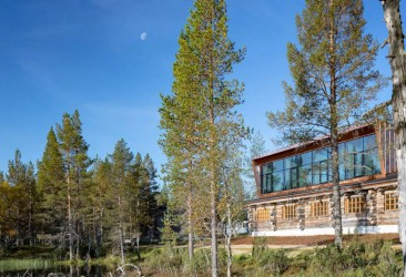 Jávri Lodge near Urho Kekkonen National Park