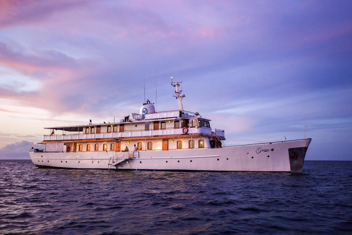 The Voyage of the M/Y Grace