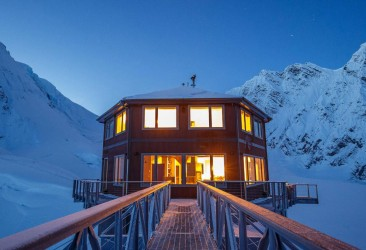 Sheldon Chalet – Engineering Feat on Denali National Park