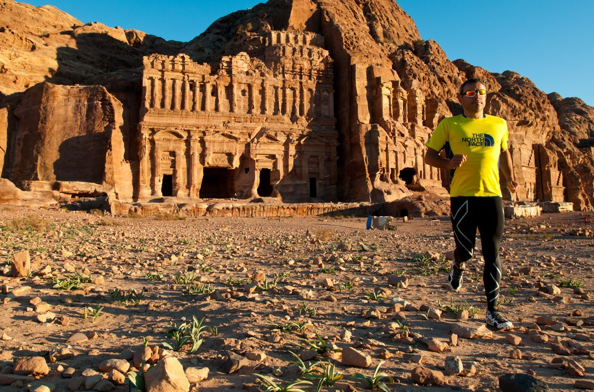 Six Marathons in the Desert